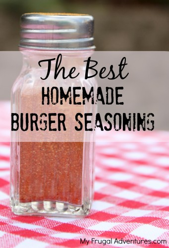 The Best Homemade Hamburger Seasoning (amp up your burgers!)