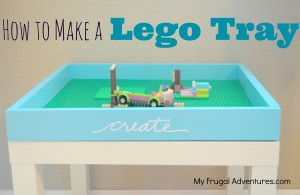 how to create a lego table