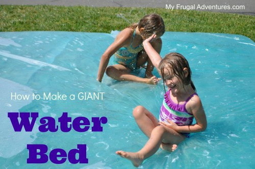 how to make a giant water blob