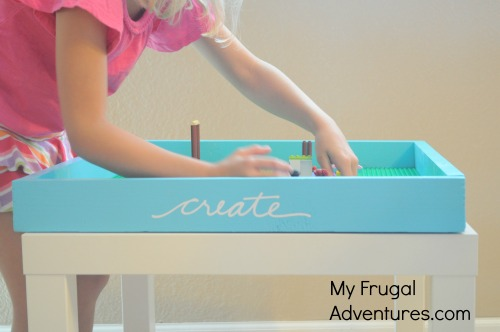 Easy DIY Lego Tray (Just $5.00!)