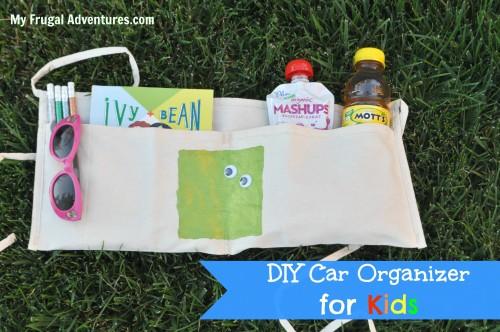 Easy DIY Car Organizer