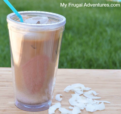Homemade Iced Coconut Latte Recipe