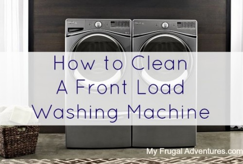 Step by Step Directions on How to Clean a Washing Machine
