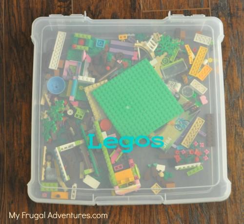 Michael's: Scrapbook Cases $2.99 {Great for Legos, Barbies ...