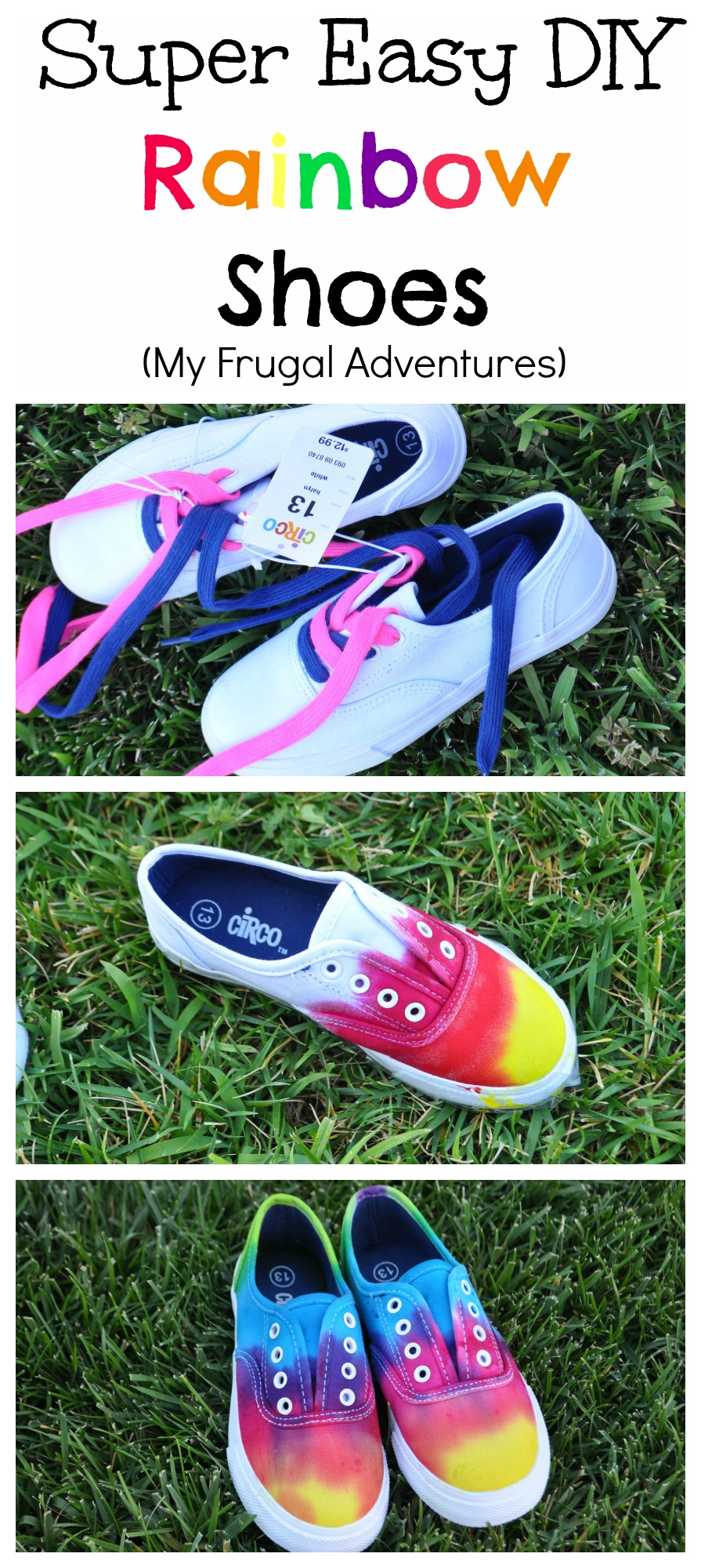7af231aba35525 DIY Tie Dye Children s Shoes - My Frugal Adventures