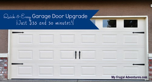 DIY Garage Door Upgrade