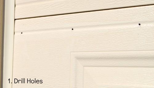 Quick & Easy DIY Garage Door Upgrade