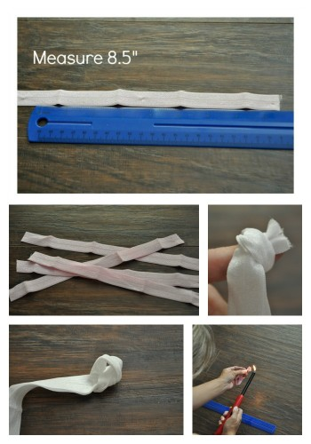 How to make hair ties