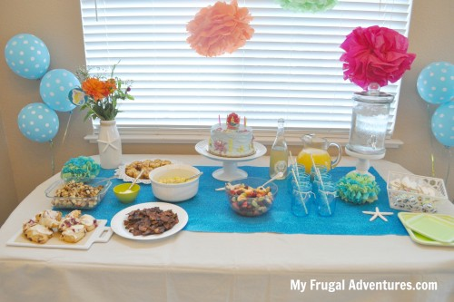 Mermaid or Under the Sea Party Ideas & Inspiration - My Frugal Adventures