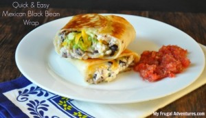Mexican Black Bean Wrap Recipe