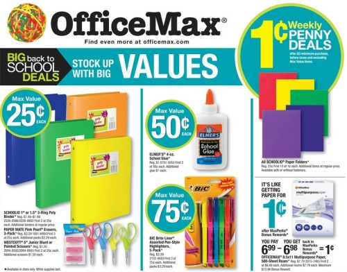 OfficeMax 08.25