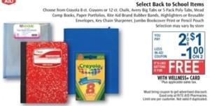 RA Free School Supplies