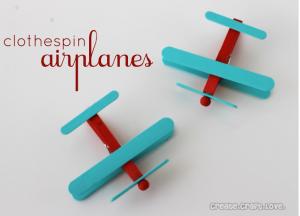 clothespin plane