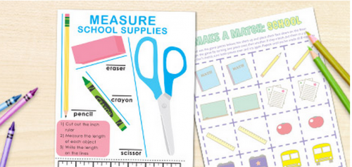 Free Printables to Get Organized for Back to School