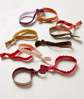 How to Make Creaseless Hair Ties {About $.40 Each!}