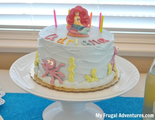 Mermaid or Under the Sea Party Ideas Inspiration My Frugal
