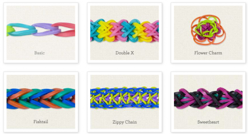 Loom Band Bracelet Names
