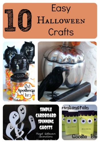 10 Easy halloween crafts