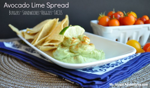 Avocado Lime Spread