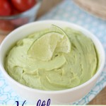 Easy Avocado Lime Spread- perfect way to jazz up tacos, grilled cheese, burgers and more!