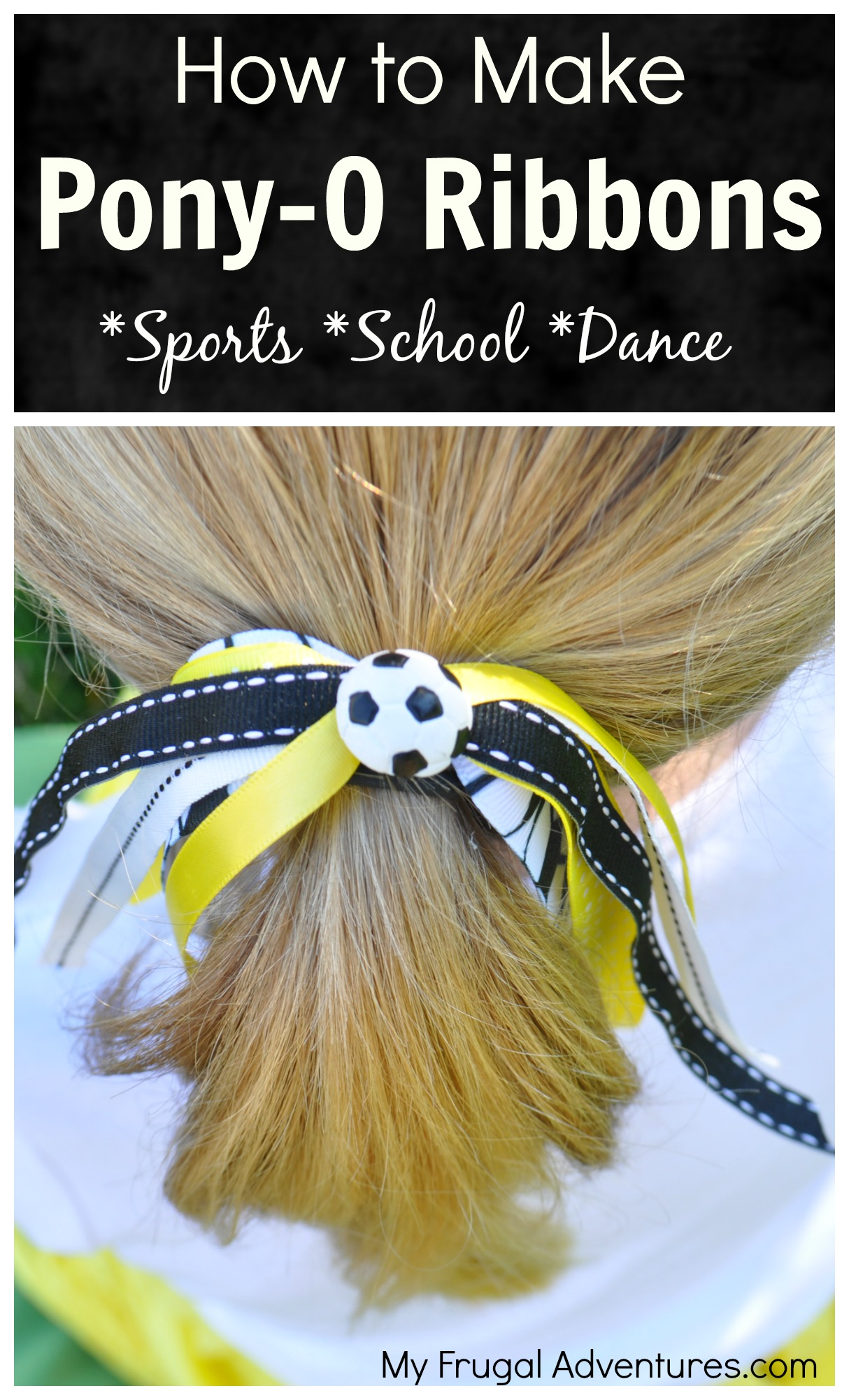 How to Make Ponytail Ribbons for Girls (Pony-os) - My Frugal