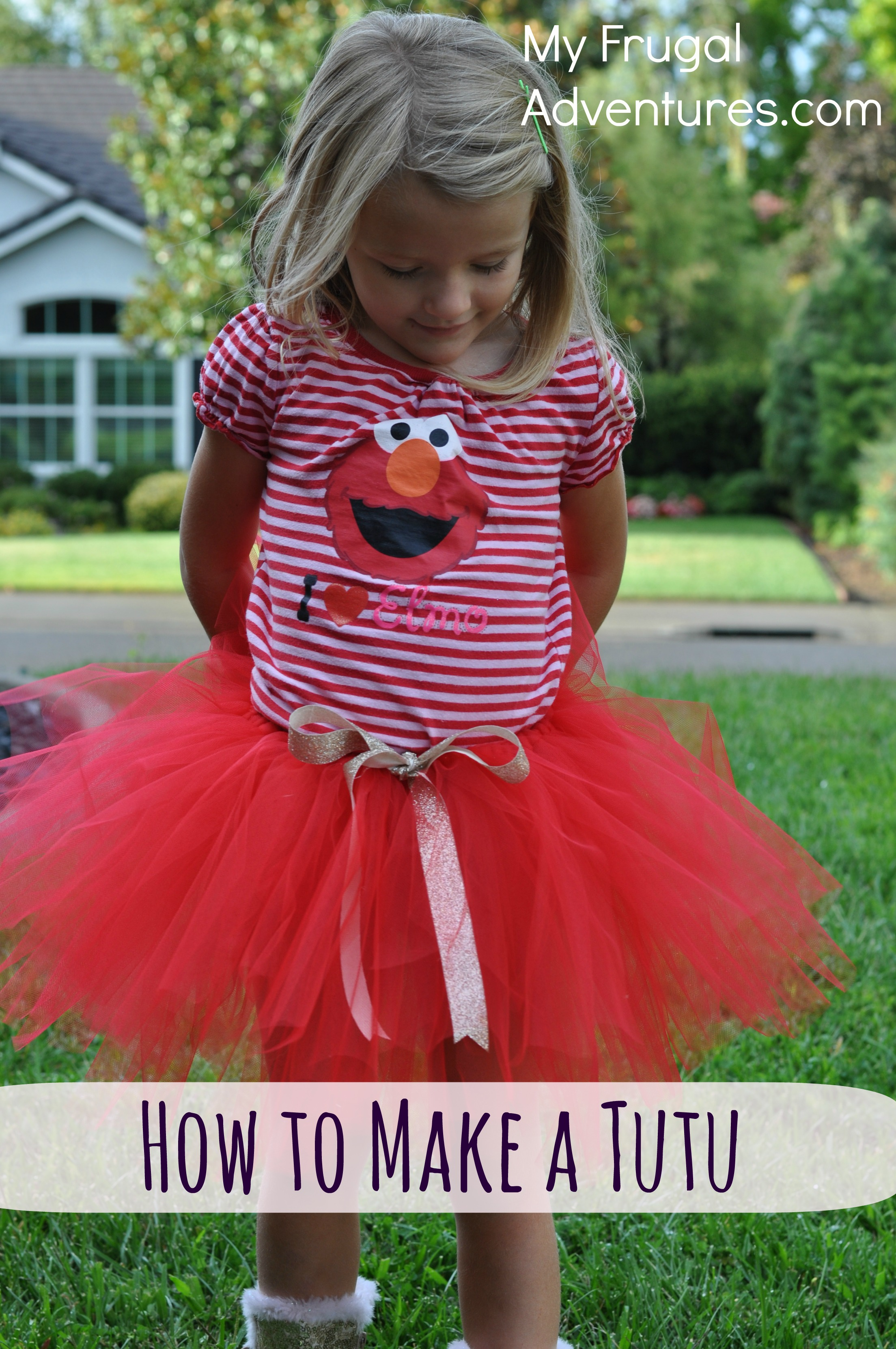 sc 1 st  My Frugal Adventures & How to Make a Tutu Quick and Easy! - My Frugal Adventures