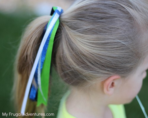 How to make hair Ribbons for Girls