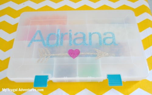How to organize the rainbow loom