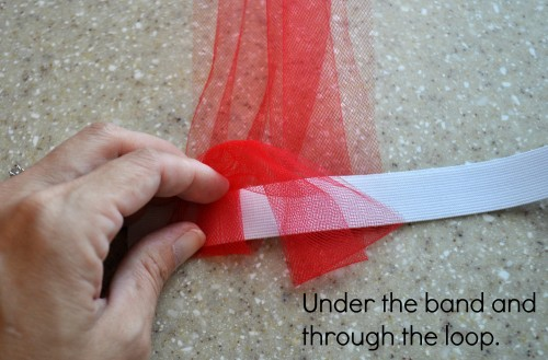 How to tie a tutu skirt