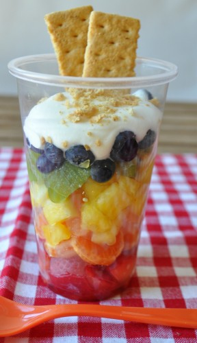 Rainbow Fruit Cup