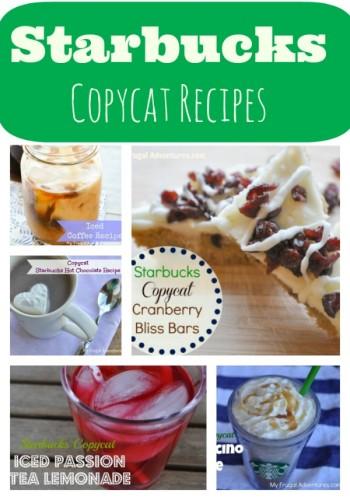 Starbucks Copycat Recipes