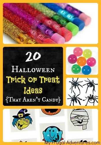 Halloween Trick or Treat Ideas (That Don't Involve Candy!)