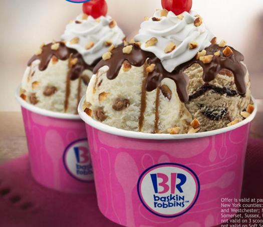 Baskin Robbins Ice Creams Cakes