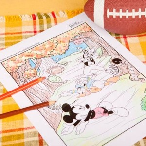 Free Fall Coloring Pages and Activities