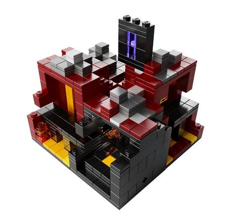 Lego Minecraft Sets  34 ShippedLego Minecraft Nether Instructions