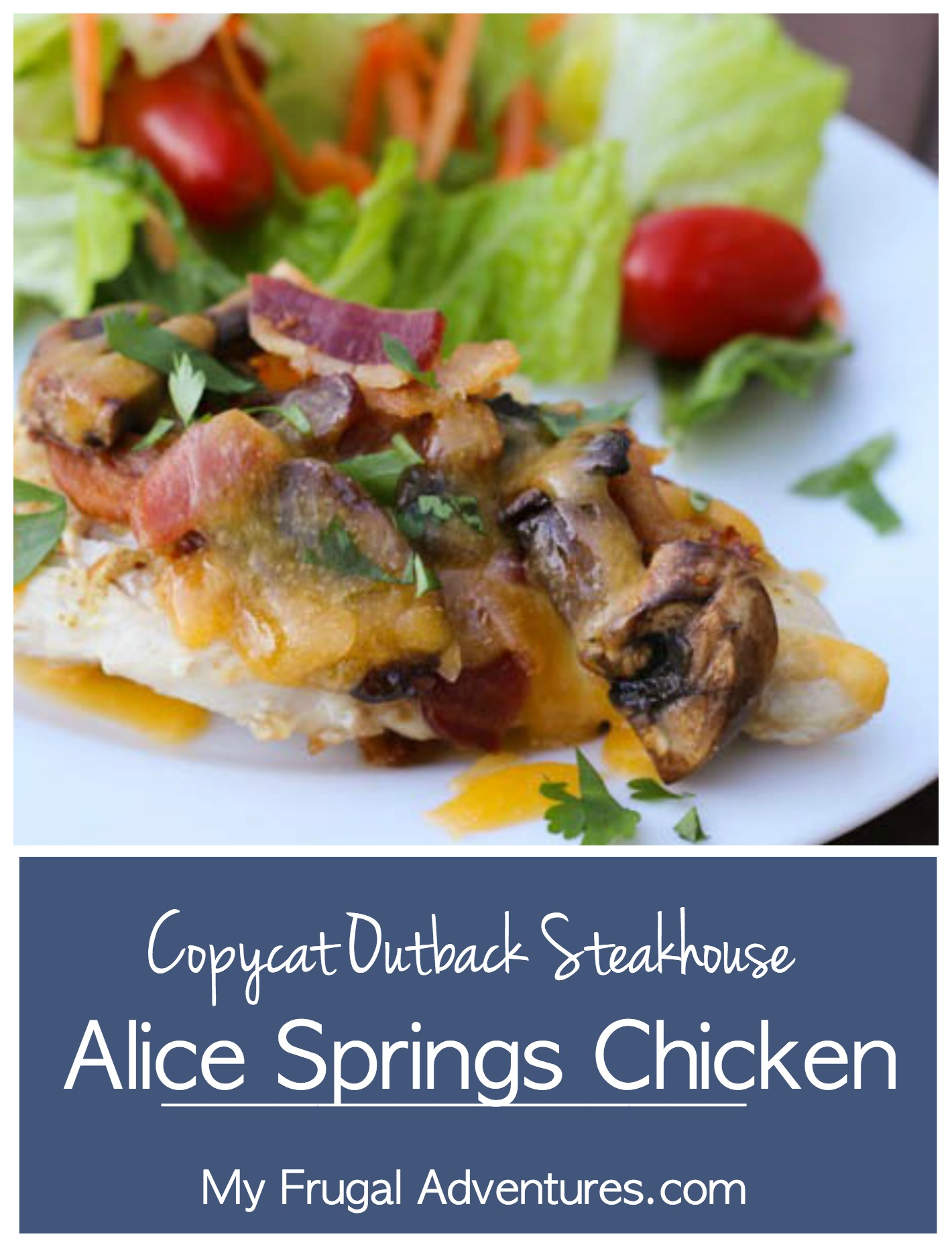 Copycat Outback Steakhouse Alice Springs Chicken Recipe