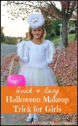 Easy Halloween makeup for girls