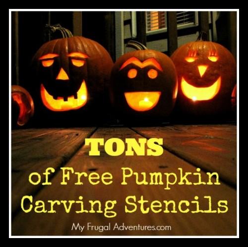 Free Pumpkin Carving Stencils Patterns