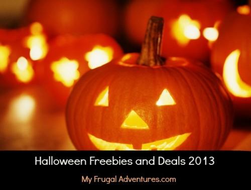 Halloween freebies and deals