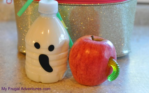 Fun easy halloween lunchbox ideas my frugal adventures for Easy fun halloween treats for school
