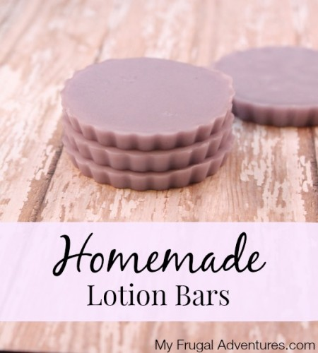 Homemade Lotion Bars - so easy and a perfect gift idea!