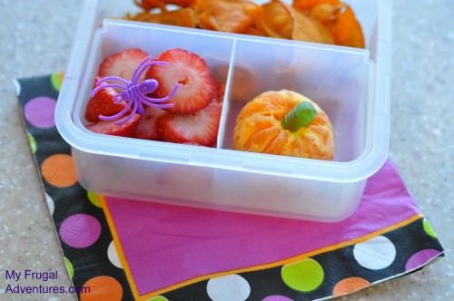Lunchbox ideas for halloween