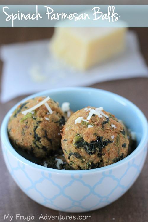 Spinach Parmesan Balls