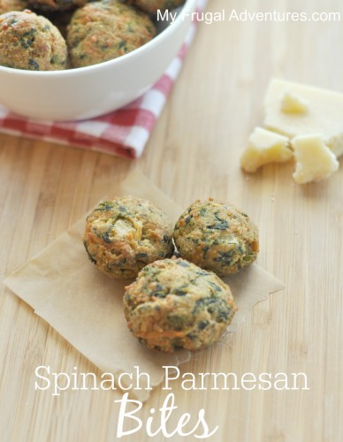 Spinach Parmesan Bites - DELICIOUS party appetizer