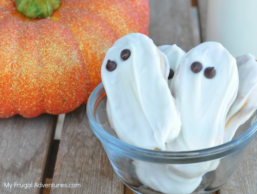 ghost cookies for halloween