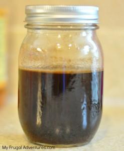 homemade Cinnamon Dulce syrup