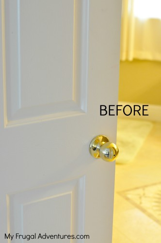 home improvement tip custom painted doorknobs my frugal adventures. Black Bedroom Furniture Sets. Home Design Ideas