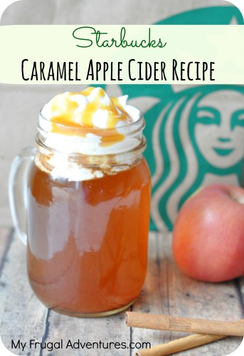 starbucks apple cider recipe