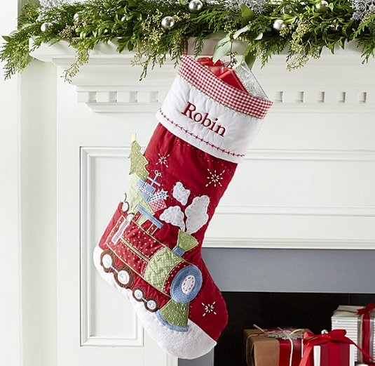 Pottery Barn Quilted Stockings $19 Shipped - My Frugal Adventures : pottery barn quilted stocking - Adamdwight.com