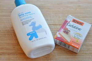 Homemade Vapo Rub bath gel